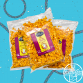 Hot Charlie's Hot  Cheddar Popcorn (3 bags)