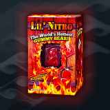 Lil' Nitro: The World's Hottest Gummy Bear by Flamethrower Candy Co.