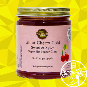 Mr. B's  Ghost Cherry Gold Pepper Glaze & Jelly
