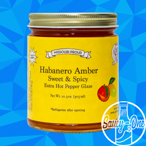 Mr. B's  Habanero Amber Pepper Glaze & Jelly