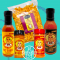 Hot Charlie's Hot Sauce, Seasoning, & Popcorn Collection (5 Pack)